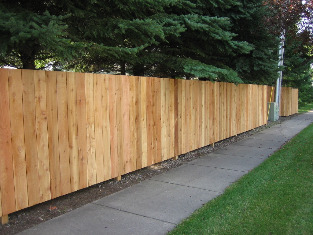 Cedar Wood Fence Photos
