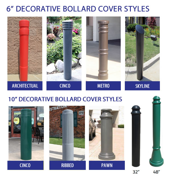 Decorative Bollard Sleeves